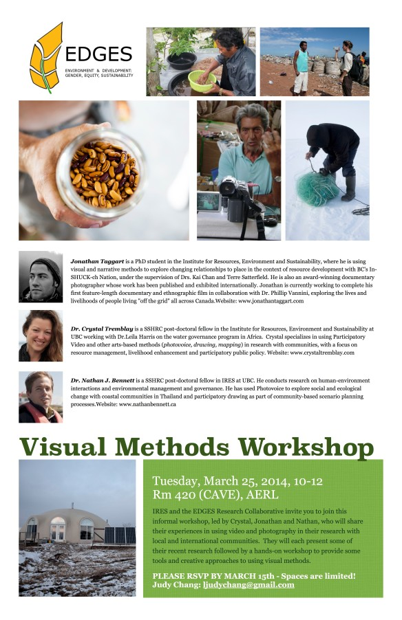 Visual Methods Workshop EDGES